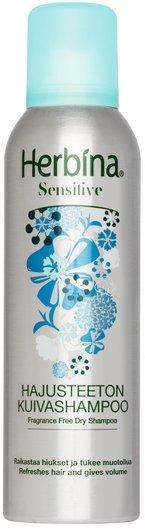 Сух шампоан за обем за чувствителен скалп Herbina Volumising Dry Shampoo Sensitive